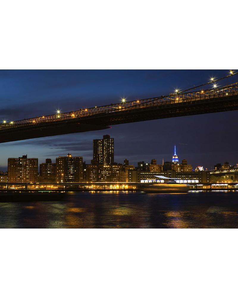 Towards the Skyline - photographie Nicolas Mazières  New-York depuis Brooklyn Park et à côté du Brooklyn Bridge