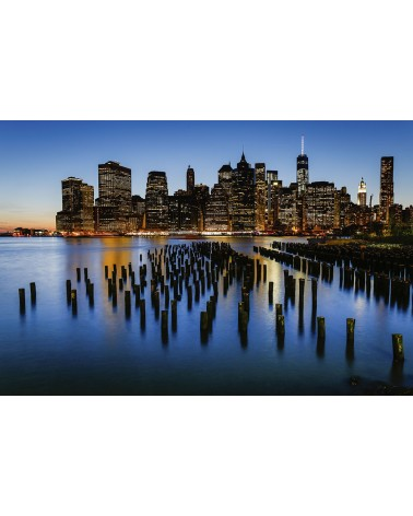 The Skyline - photographie Nicolas Mazières  La Skyline de New-York