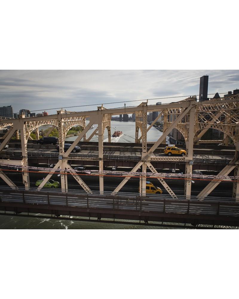 The Queensboro Bridge - photographie Nicolas Mazières  Vue aérienne du Queensboro Bridge