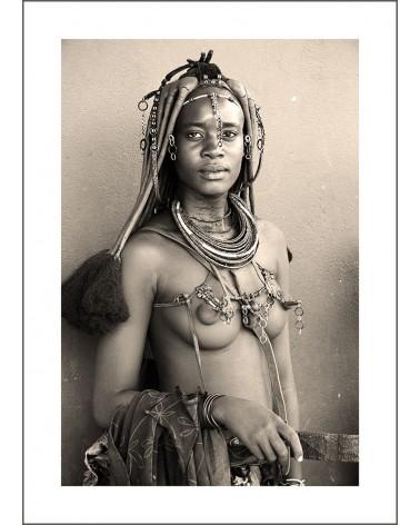 Youg Himba tribe - photographie Jacques-Michel Coulandeau  Jeune femme Himba