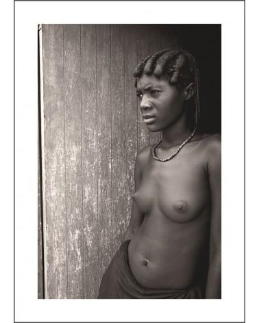 Mucawana et le deuil - photographie Jacques-Michel Coulandeau  Jeune femme Mucawana en deuil