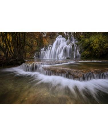 Cascade des Tufs - photographie Nicolas Gascard   Pose longue de la cascade des Tufs à l'automne.