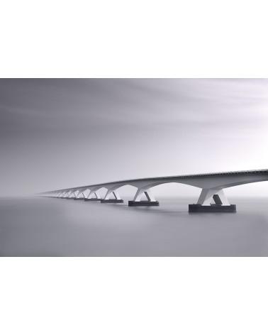 Vers l'infini - photographie Philippe Lagabbe   Pont de Zélande